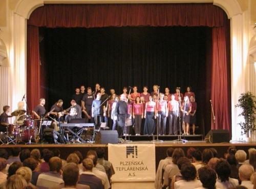 Gospelový koncert v Pekle